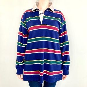 Vintage Tommy Hilfiger striped long sleeve shirt.